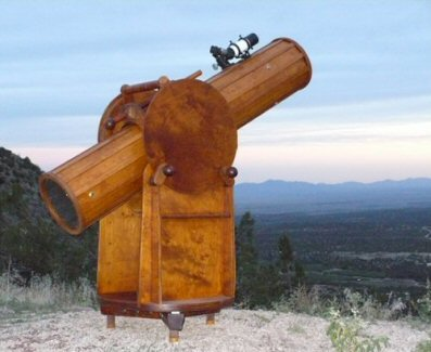 Wooden Telescope twilight view