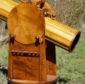 Wooden Telescope Mounting 3